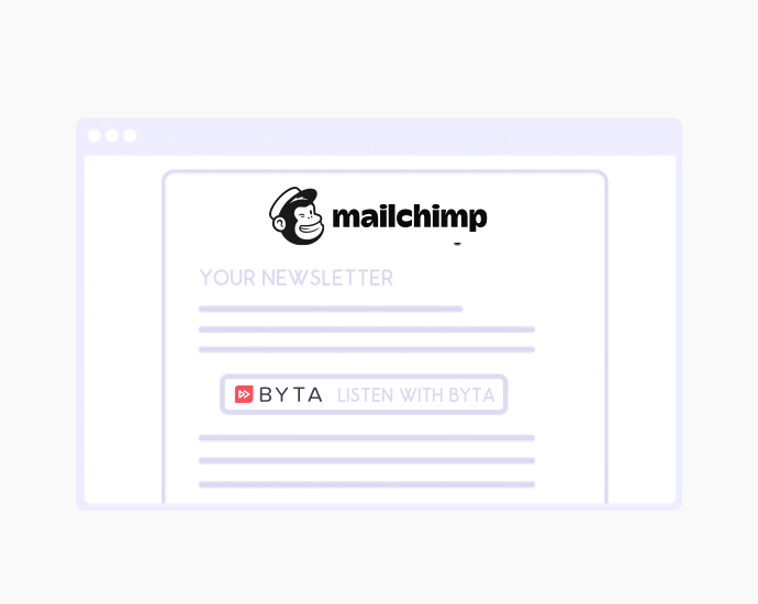 Announcing Byta's Mailchimp Integration