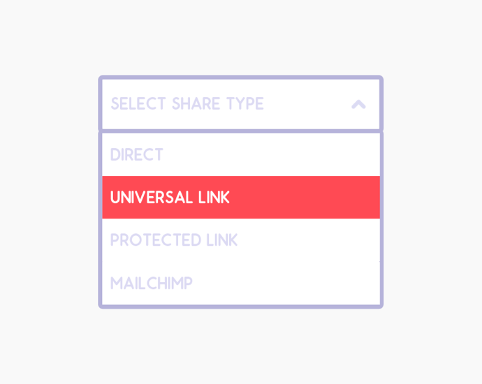 Private Sharing Links Update