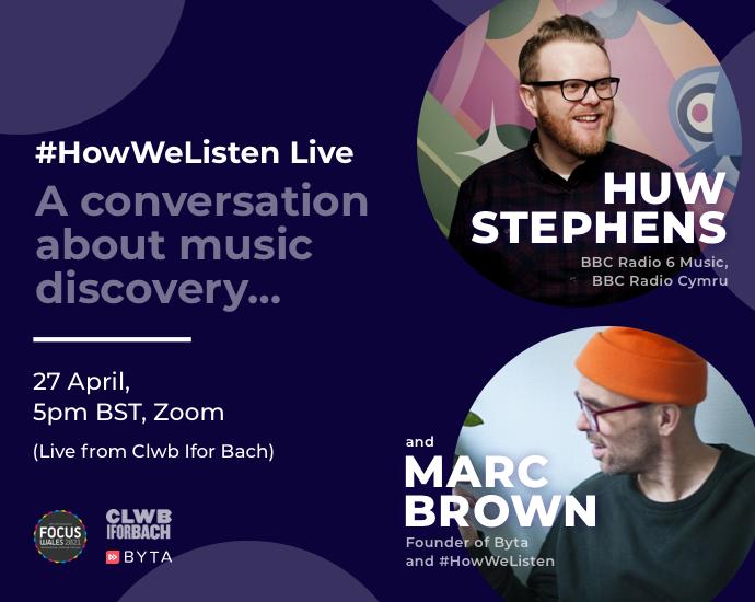 Byta Presents: #HowWeListen Live: In Conversation with Huw Stephens