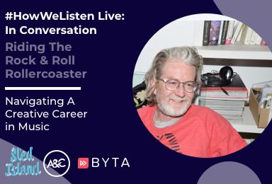 Byta Presents: #HowWeListen Live: In Conversation with Brendan Canning