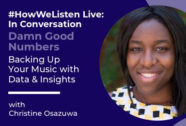 Byta Presents: #HowWeListen Live: In Conversation with Christine Osazuwa